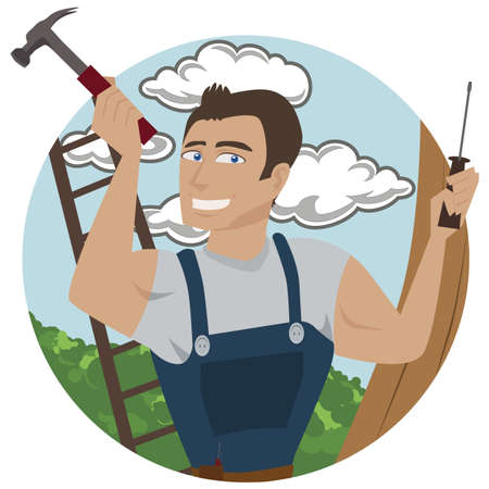 Carpenter Stock Vector - 17920168