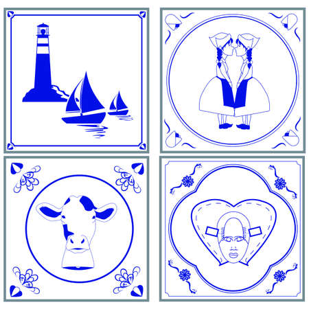delftware: Dutch tiles