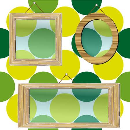 Photo frames Stock Vector - 21649430