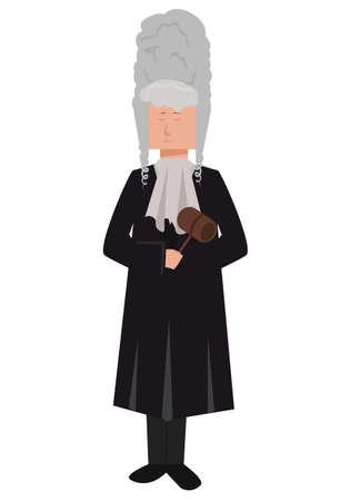 Judge vector Vector