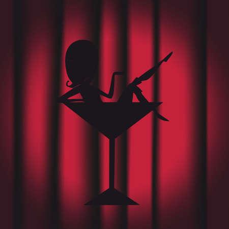 showgirl: showgirl Illustration