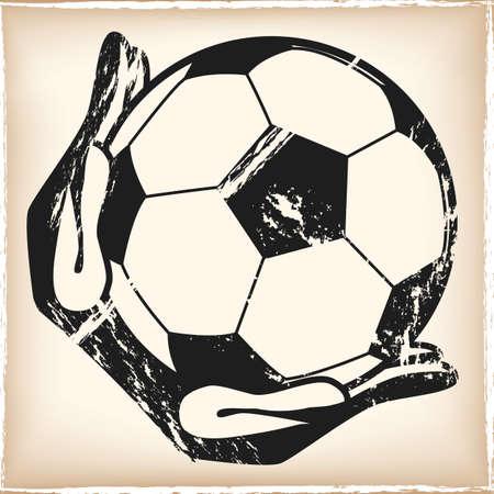 goalkeeper Illustration