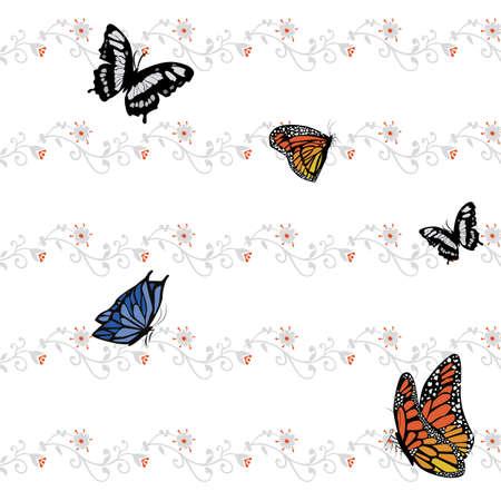 Butterfly pattern Illustration