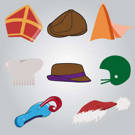 dressing up: collection of unique hats