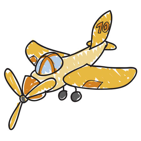image of a kids toy airplane