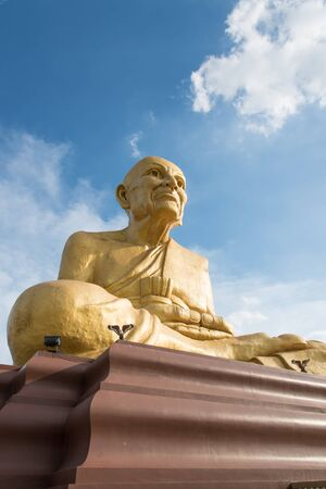 buddism: biggest buddism statue heigh 51 meters in Thailand name Luang Phu Toud, Tarvel icon