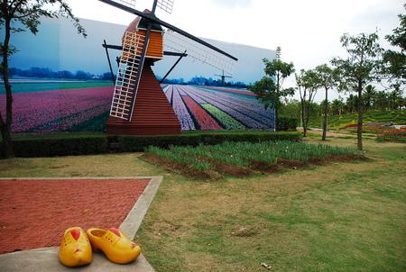 the royal park: Royal Park Rajapruek in chiangmai thailand Stock Photo