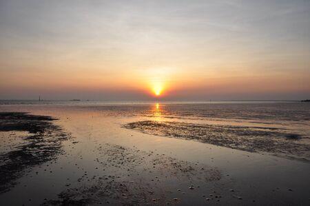 twilight in the sea