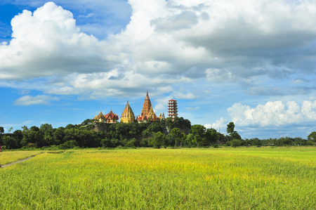 Wat Tham Sua, Tha Muang Kanchanaburi. Editorial