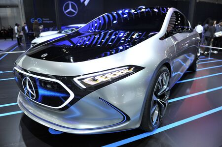 BANGKOK-NOVEMBER  mercedes-benz car at The 35nd Motor expo 2018 on november 28, 2018 in Bangkok, Thailand Editorial