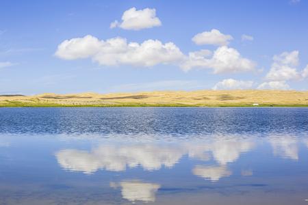 Qinghai Lake Milton reflection