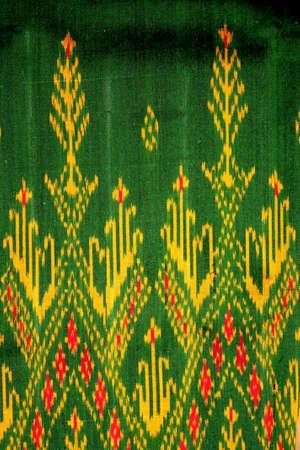Thai silk Stock Photo