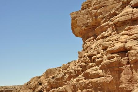 sinai peninsula: Egypt, the mountains of the Sinai desert, Colored Canyon