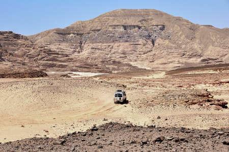 sinai peninsula: the mountains of the Sinai desert, Egypt Stock Photo