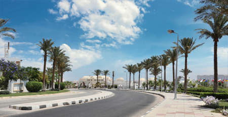 dahab: Paved road to Dahab to Sharm ElSheikh Egypt
