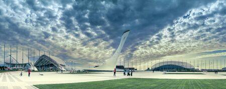 olympiad: The Olympic Park in the resort city of Sochi, Krasnodar Krai, Russia