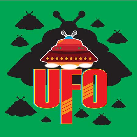 unidentified: UFO VECTOR Illustration