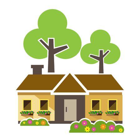 houses: Home tree, Houses icons