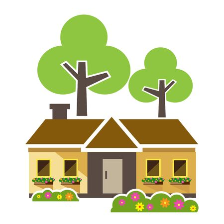 Home tree, Houses icons