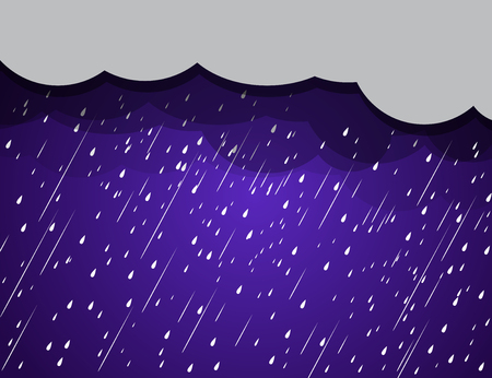 background rain clouds, storm Illustration