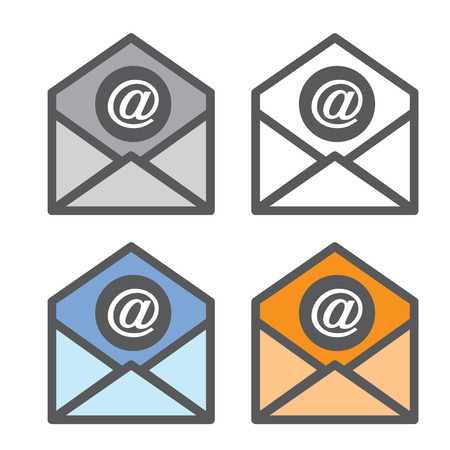 mail: Mail Icon,  Internet Mail Illustration