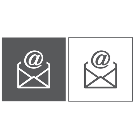 mail icon: Mail Icon,  Internet Mail Illustration