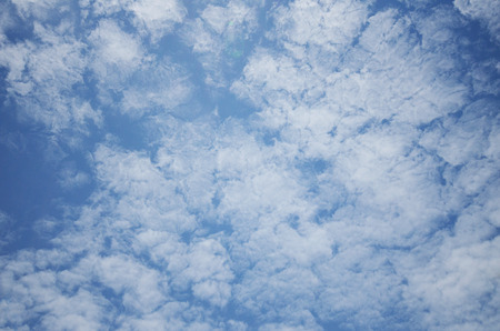 Sky clouds,sunny day, sunshine Stock Photo