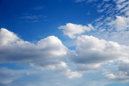 Clouds with blue sky background 3