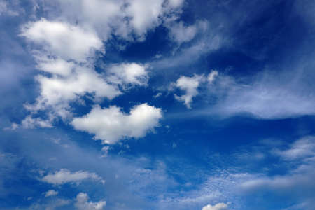Clouds with blue sky background 4