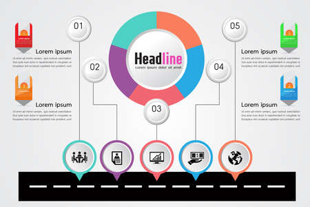 Infograph template,organization , business timeline ,road map infographic,workflow layout