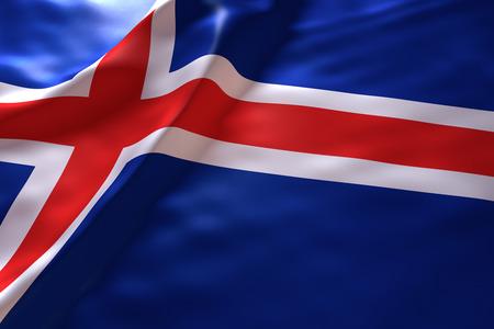 flag of iceland: Iceland flag background