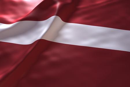 ラトビアの旗の背景 写真素材