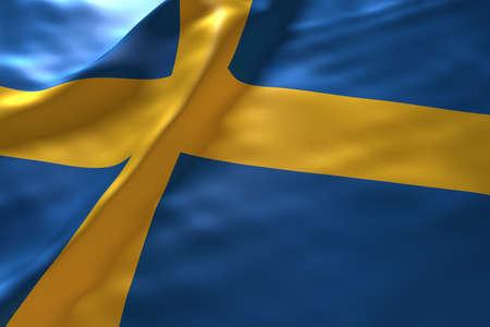 bandera de suecia: Suecia fondo de la bandera Foto de archivo