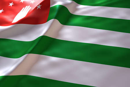 abkhazia: Abkhazia flag background