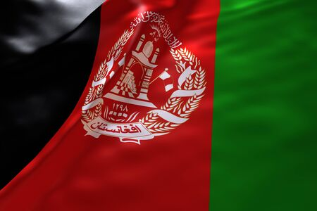 afghanistan flag: Afghanistan flag background Stock Photo