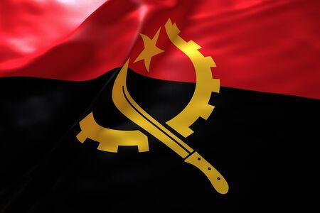 angola: Angola flag background