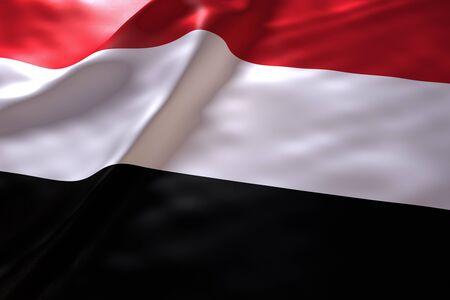 yemen: Yemen flag background
