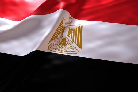 bandera de egipto: Egipto fondo de la bandera Foto de archivo