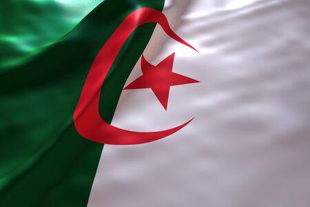 algeria: Algeria flag background