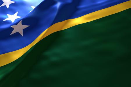 solomon: Solomon Island flag background