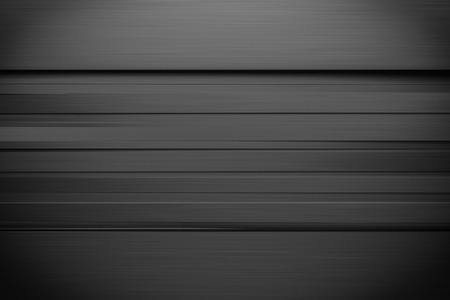 frame less: black line horizontal sider background 3d render with copy spcae Stock Photo