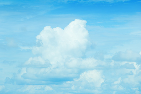 bright: bright cloudy sky background Stock Photo