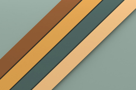 frame less: abstract vintage tone color background minimal design stripe line material 3d rendering