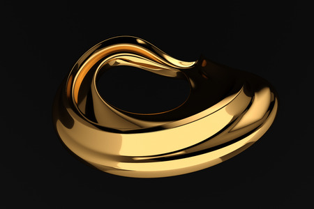worthy: abstract black luxury background 3d render Stock Photo