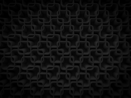 abstract 3d Background black rectangular dark alternating arrangement render