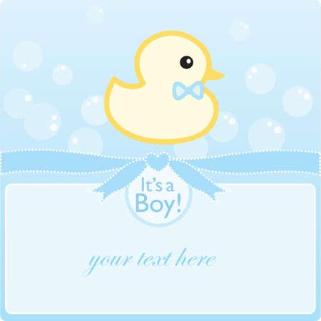 its a boy: its a boy Illustration