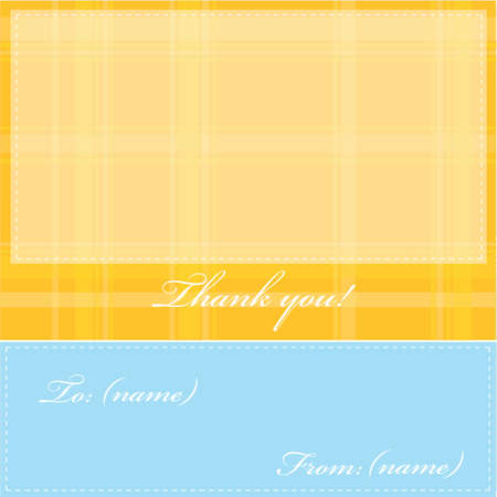 bedankt kaart