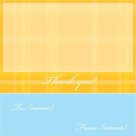 thank you card: thank you card
