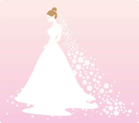 wedding dress: Bride