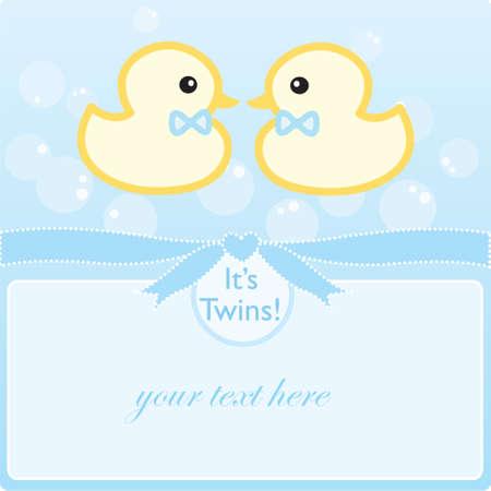 Its twin boys!